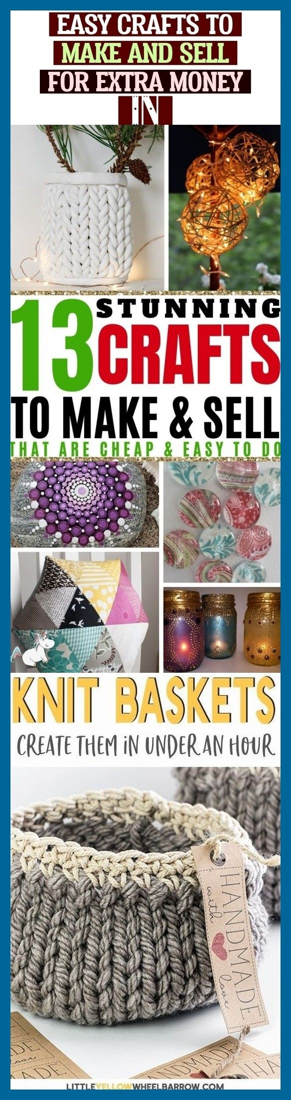 Easy Crafts To Make And Sell For Extra Money In #crochetformoney