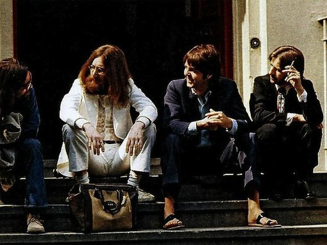 Are Shots Of The Beatles Abbey Road Cover Photo Session03