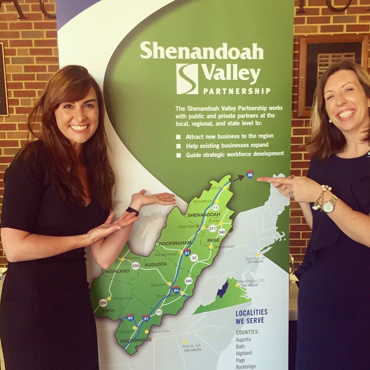DreamWakers CEO Monica Gray was the keynote speaker at the Shenandoah Valley Partnership Annual Meeting