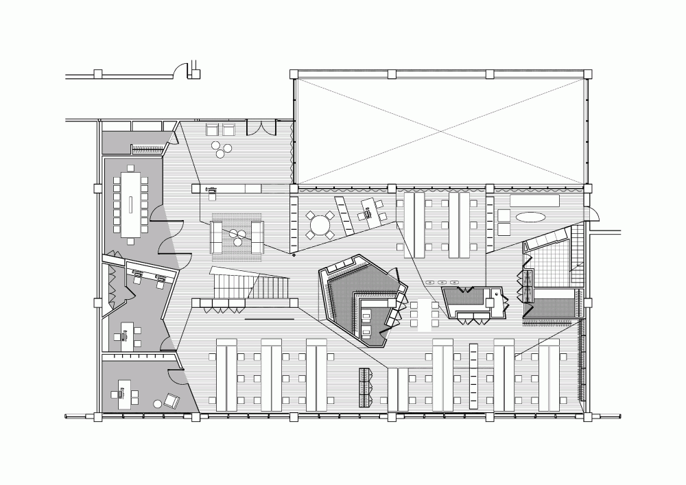 office plan interiors. Commercial Interiors · BGO Headquarters By ///byn. #Offices. #FloorPlan Office Plan