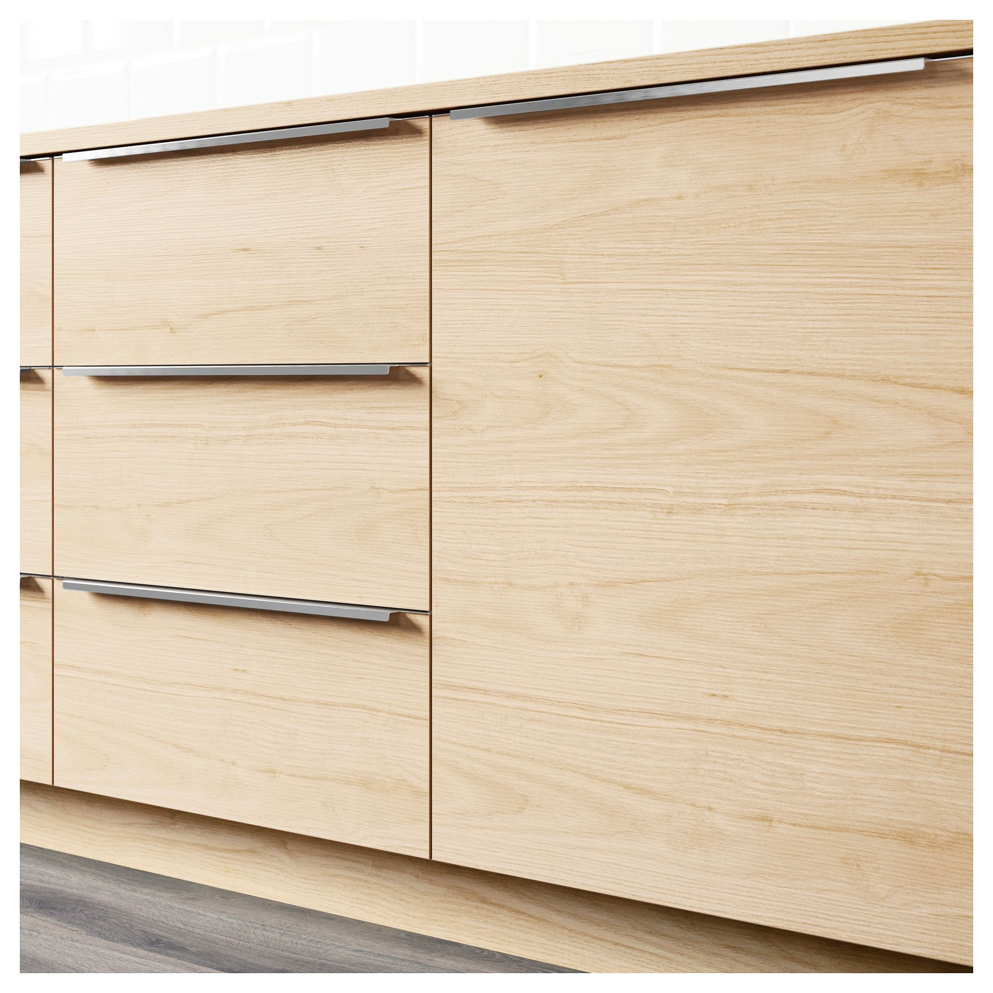 Ash Grey Cabinets Kitchen: IKEA - ASKERSUND Drawer Front Light Ash Effect