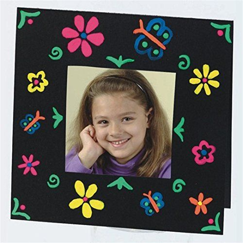 Color Splash 3D Brite Frames Craft Kit Pack of 24  SSWGP1604 >>> Find out more about the great product at the image link.