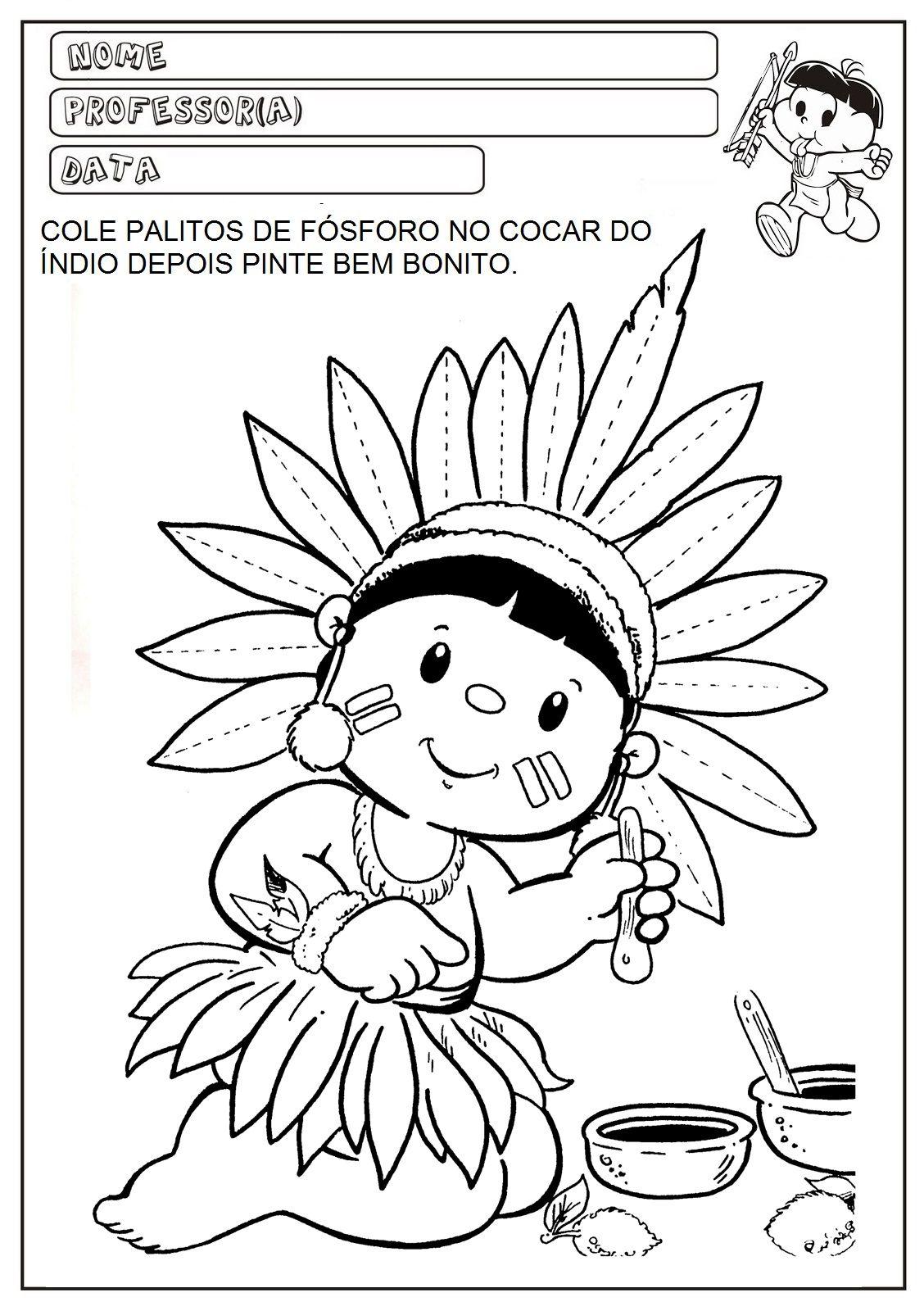 Pin De Maria Luisa Em Semana 8 Projeto Dia Do Indio Dia Do