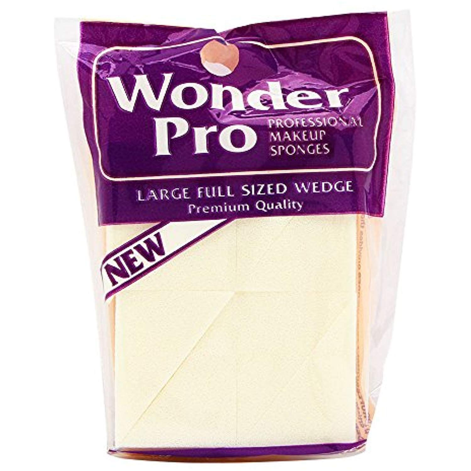 Wonder Pro Professional Makeup Sponges Large Full Sized Wedge 04100 8 Count You Can Find Out More Details At The Li Makeup Sponge Professional Makeup Makeup