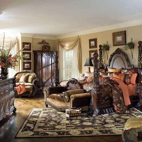 Essex Manor Collection Bedroom Michael Amini Furniture Designs
