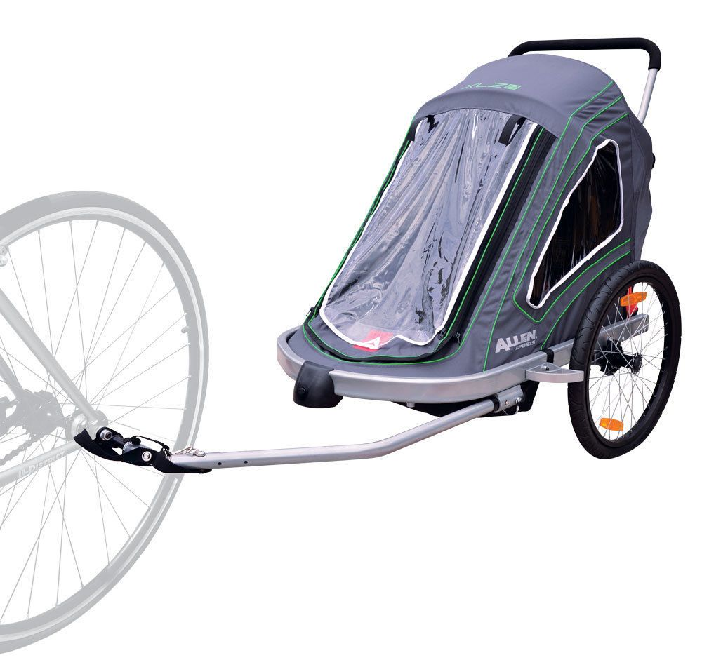Allen Sports XLZ2 Aluminum 2 Child Trailer/ Stroller