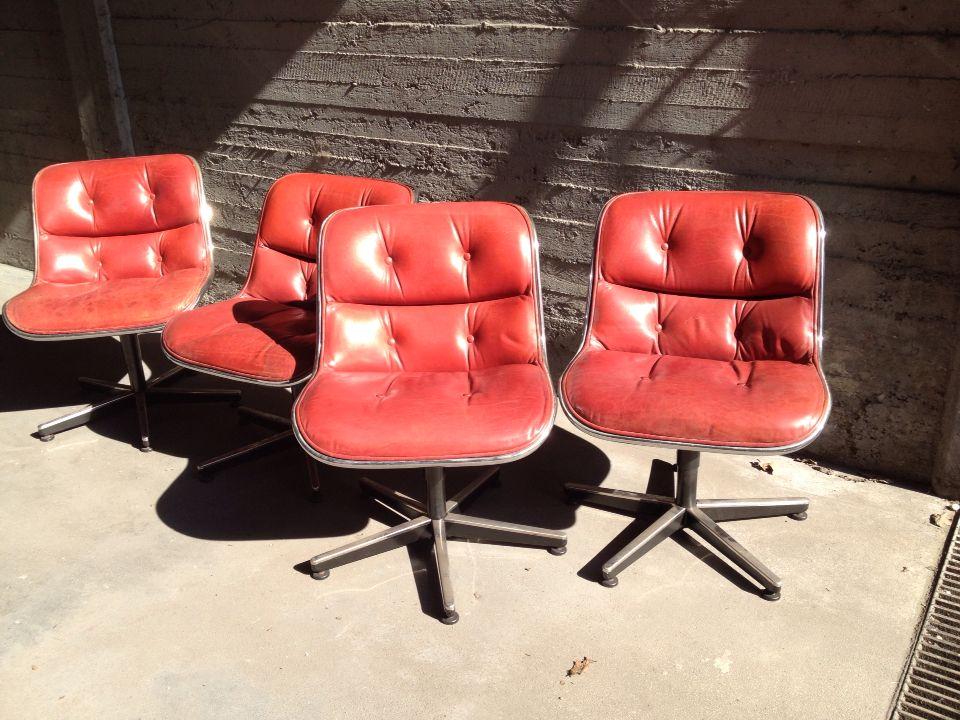 Sedie in pelle anni 70/80 #armchair   Sedie in pelle ...