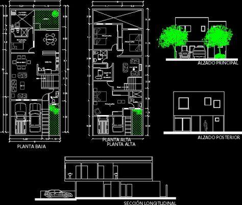 Planos de casas planos de construccion cocinas y for Niveles en planos arquitectonicos