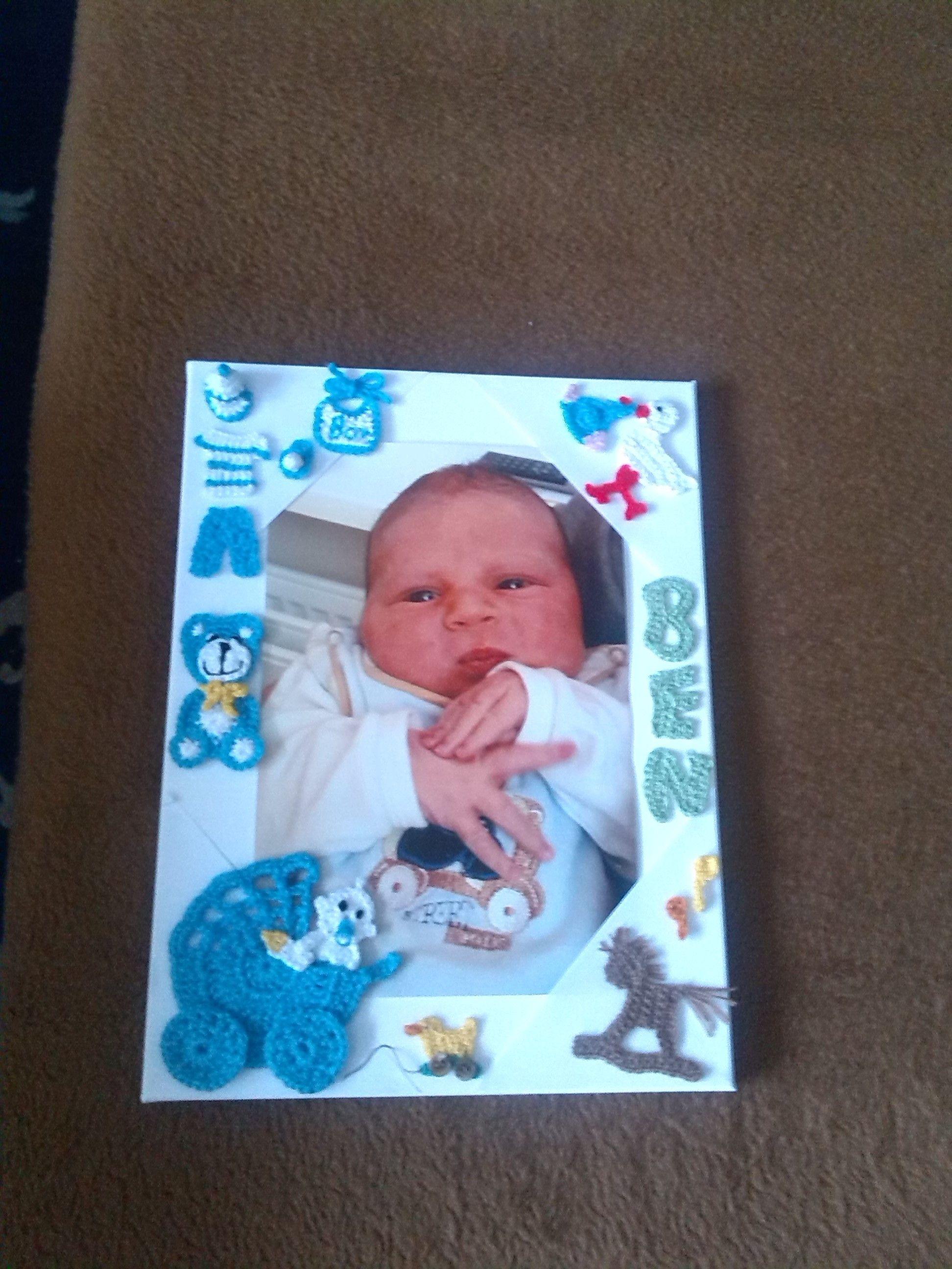 Neugeborenen - Willkommenskarte | self made by Renate ...