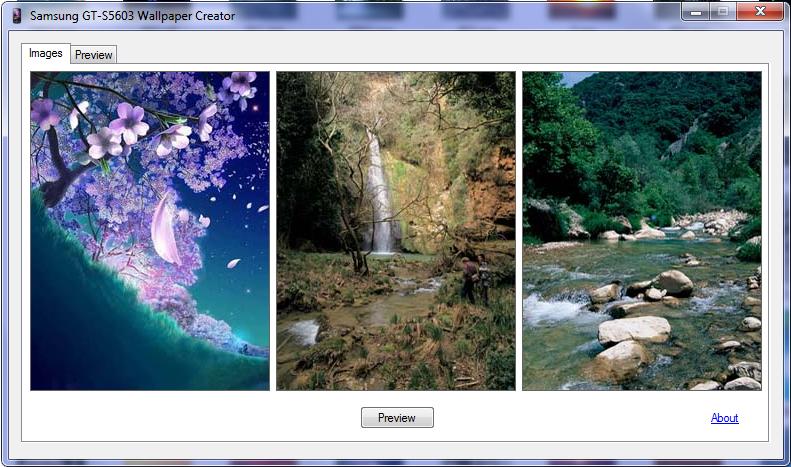 Samsung Star 3g Gt S5603 Wallpaper Creator 2011 Screenshots Free