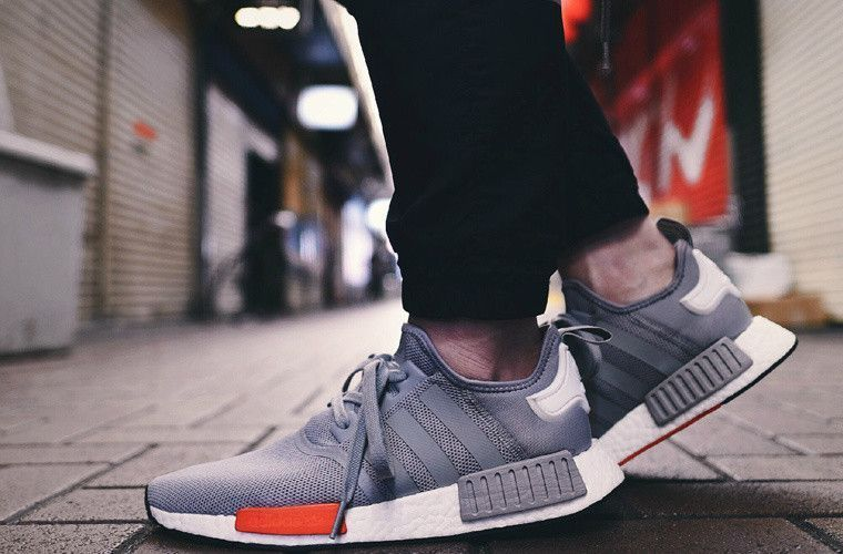bf405a83377 Adidas originals NMD R1 Men - running trainers sneakers Grey ...