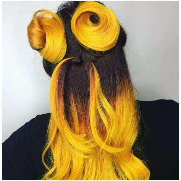 Crazy Color Semi Permanent Hair Dye 100ml Canary Yellow 520