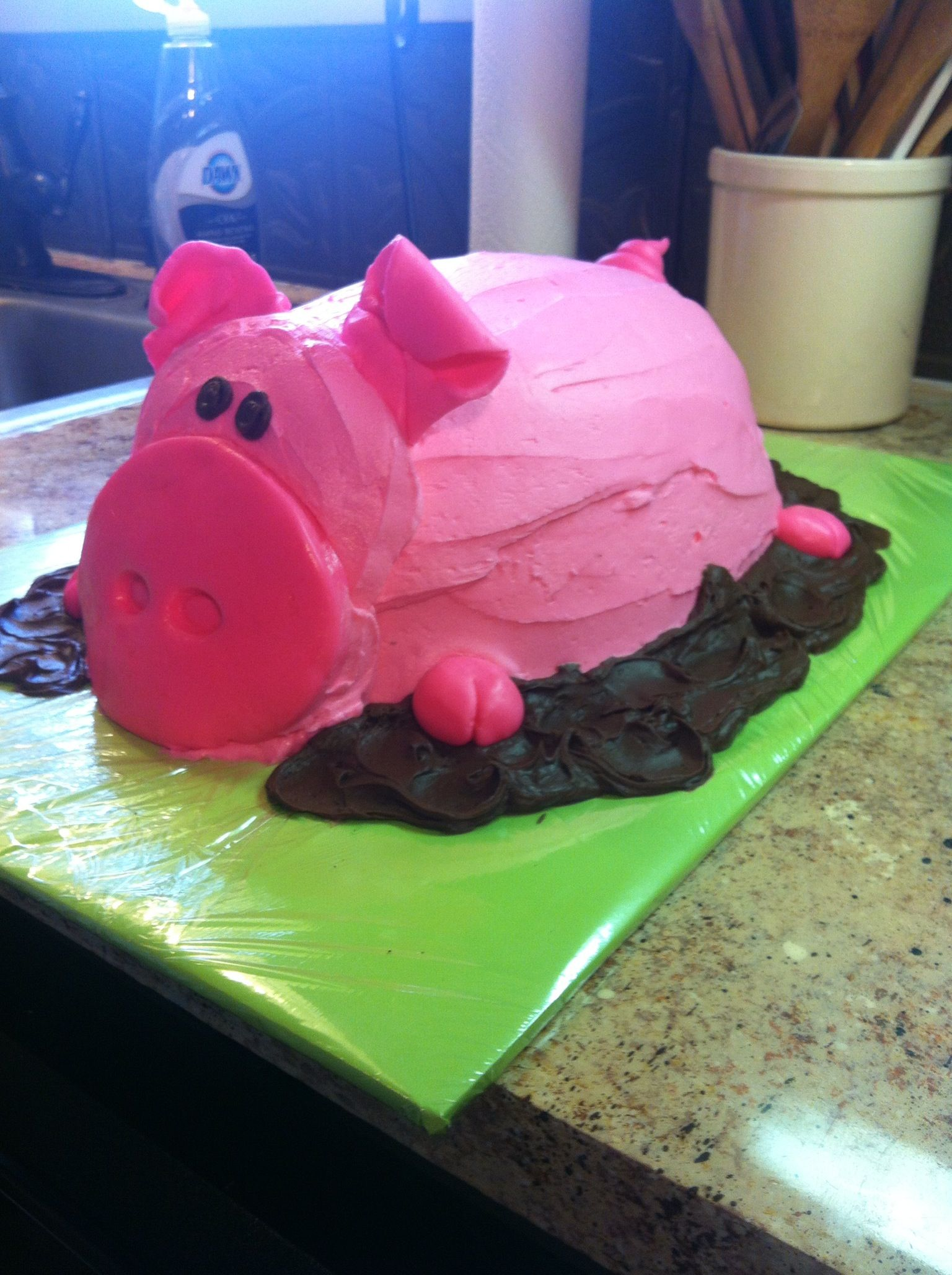 Pleasing Pig Cake Pig Cookies Pig Cake Funny Cake Personalised Birthday Cards Vishlily Jamesorg