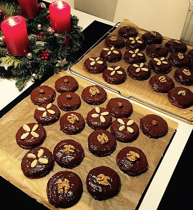 elisen lebkuchen kekse cookies desserts und xmas cookies. Black Bedroom Furniture Sets. Home Design Ideas
