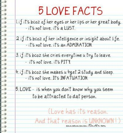 infatuation and love difference