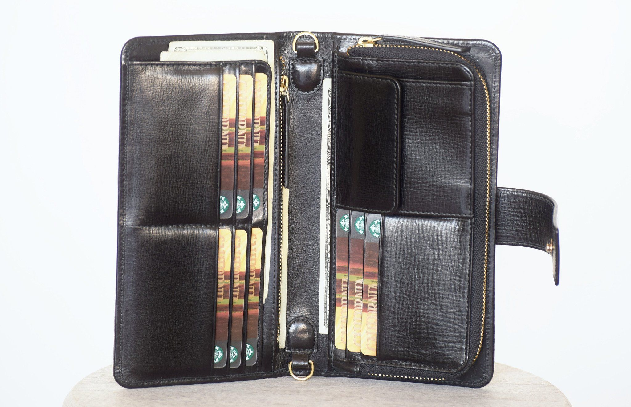 Crossbody wallet black in 2020 wallets for women