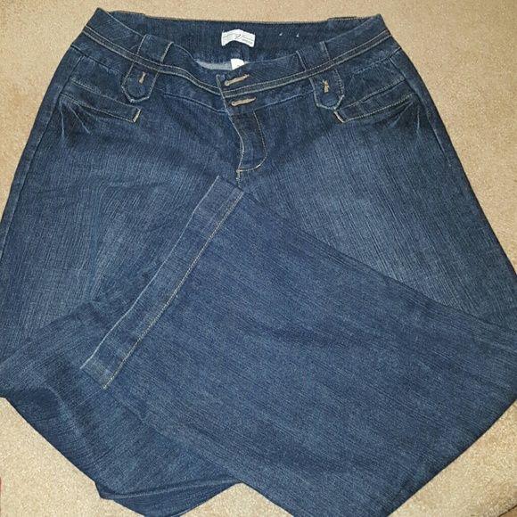Lane Bryant Wide leg Jeans LANE BRYANT JEANS WIDE LEG Lane Bryant Jeans Flare & Wide Leg