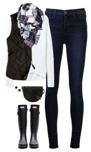 Voglio cacciatori neri e un giubbotto trapuntato nero. – Outfit.GQ