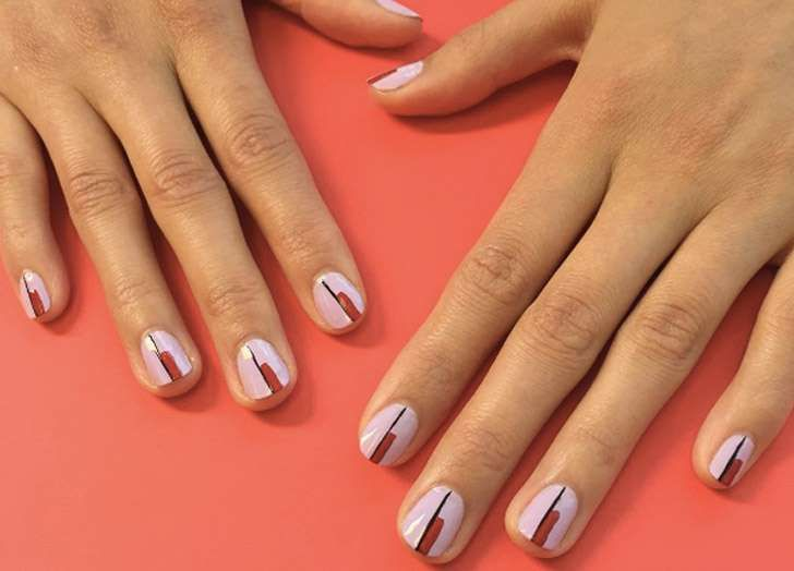 Line Art Nails : New nail art ideas to try this fall manicure mani pedi