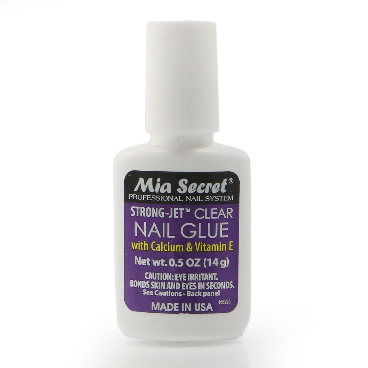 Mia Secret Strong Jet Clear Nail Glue | Nail glue, Clear nails and ...