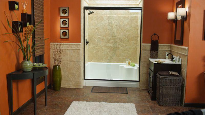 Bathtub Refinishing Pacific Coast ReBath East Ventura Blvd - Bathroom remodeling oxnard ca