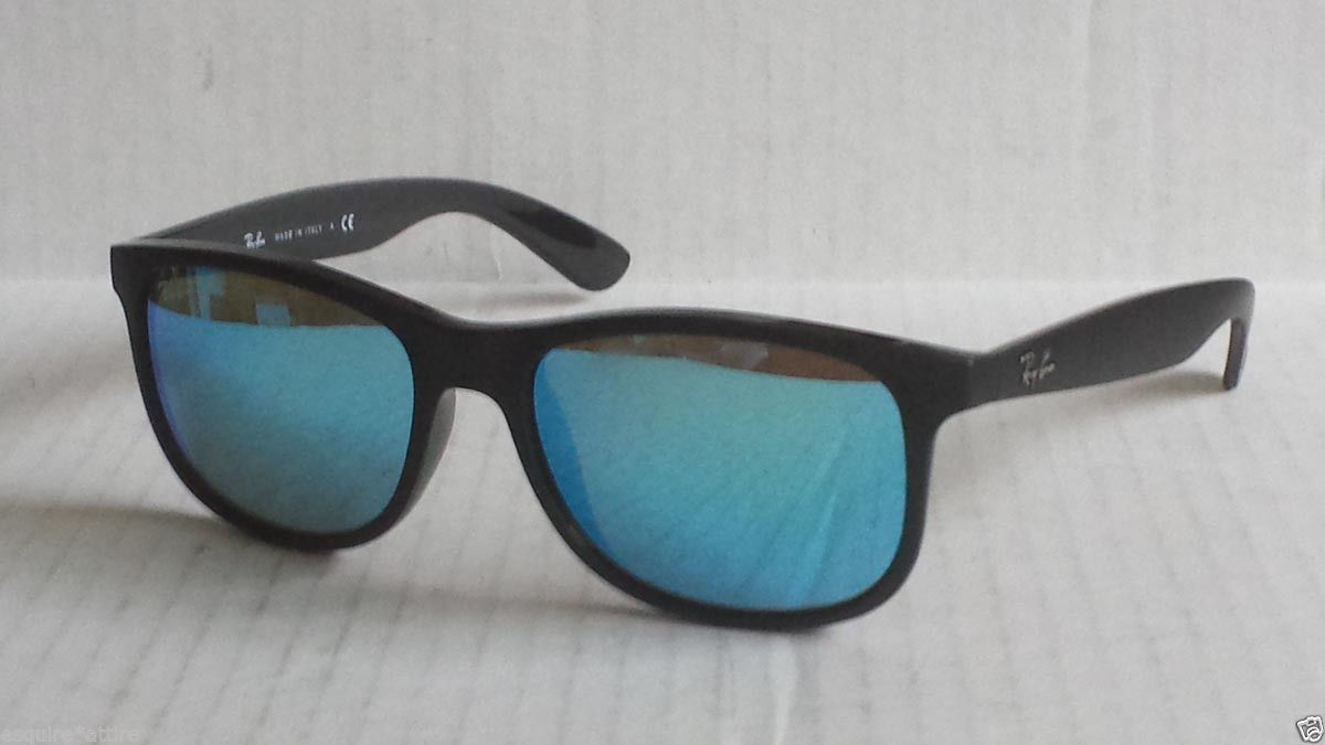 2beaaeaa817  sunglasses men fashion Ray-Ban wayfarer sunglasses RB 4202 mirrored lenses  black frame with case Italy withing our EBAY store at stores.ebay.com .