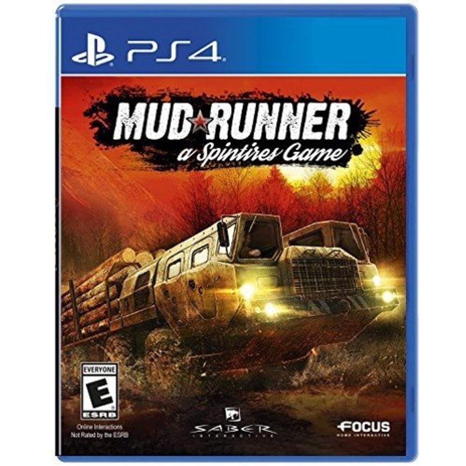 Spintires MudRunner PlayStation 4 ** Want additional