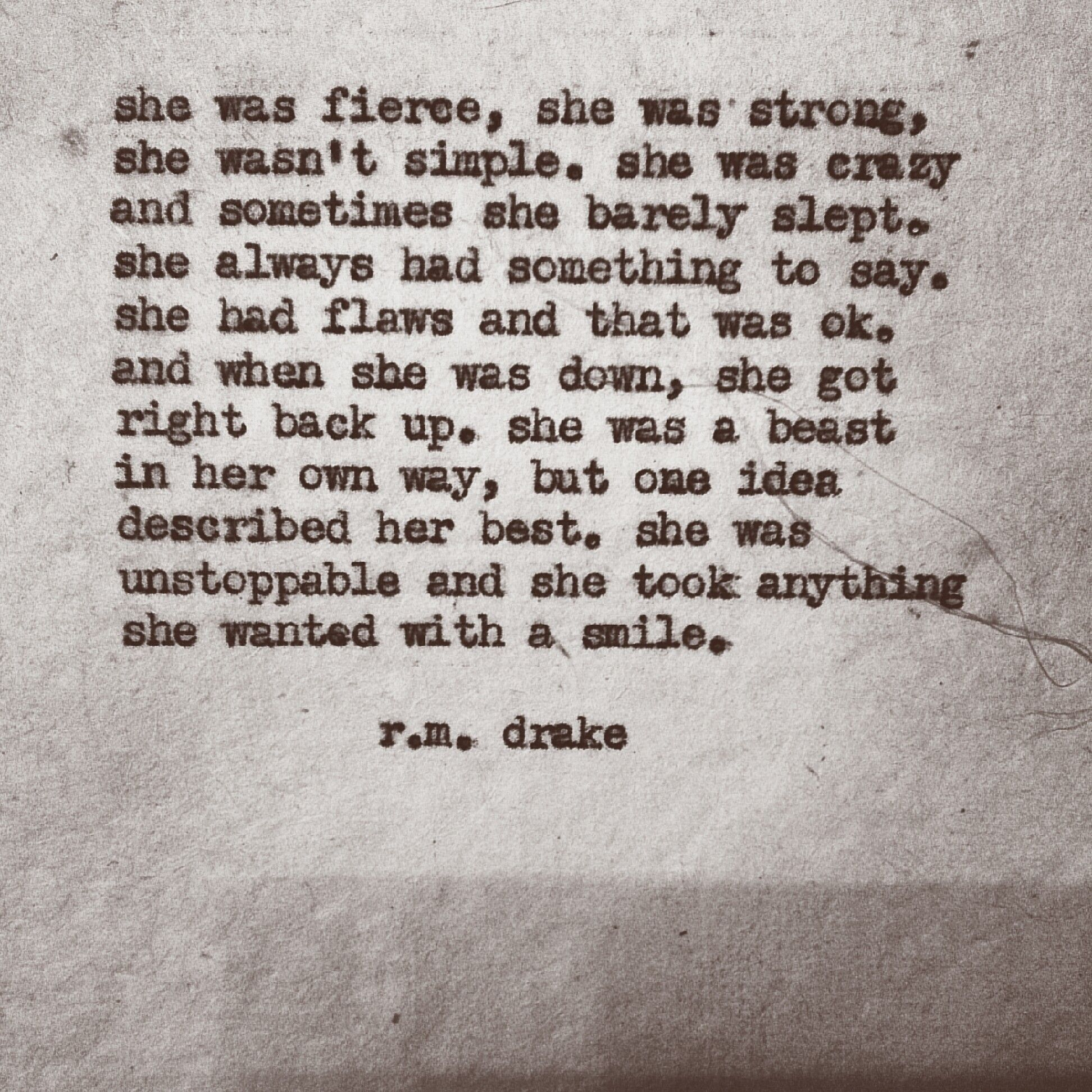 Smile poems and quotes - She Was Unstoppable And She Took Anything She Wanted With A Smile