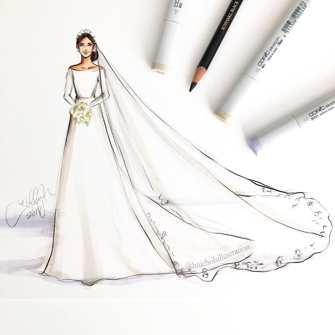 And The Bride Wore @givenchyofficial . #MeghanMarkle In