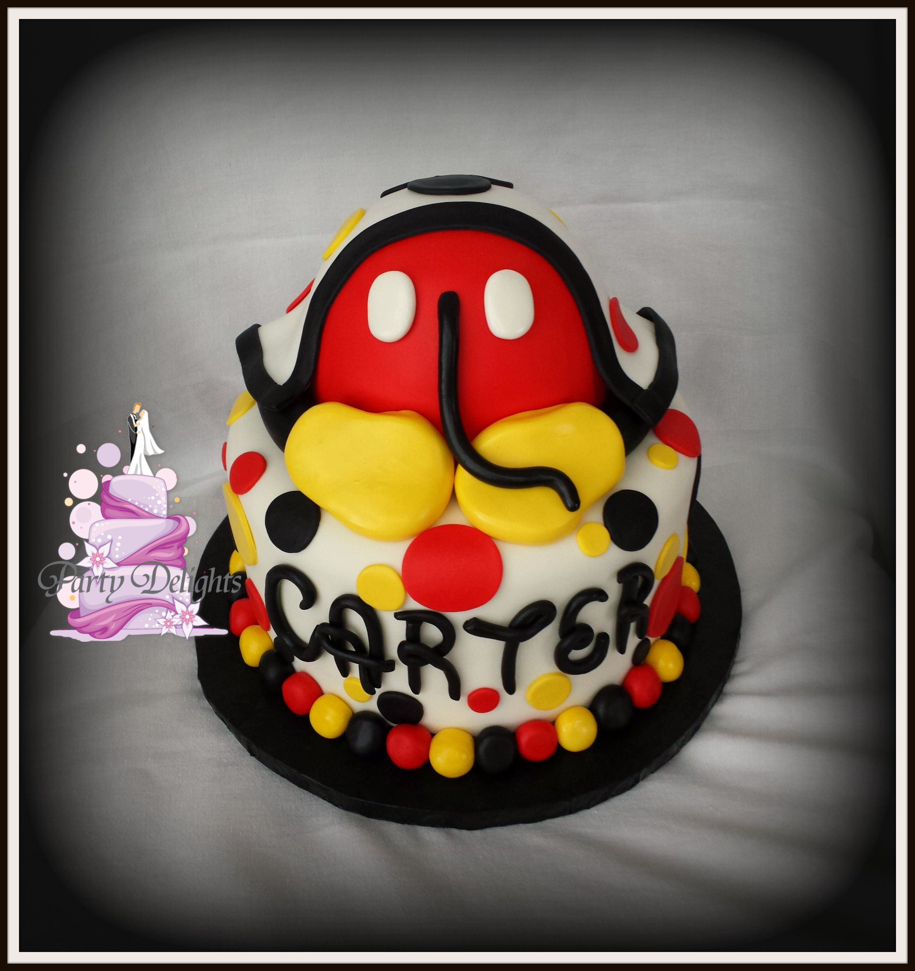 Mickey mouse baby butt for Jess Cakes I ve made