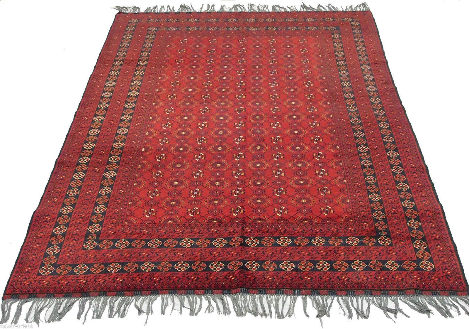 Afghan Turkmen Kunduz Orient Carpet Rug
