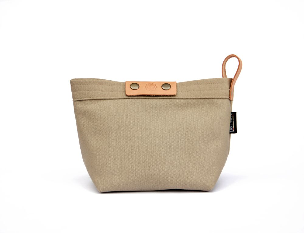 Taupe // Camera Pouch $36.00