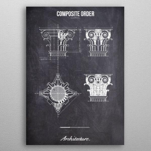 composite order by FARKI15 DESIGN | metal posters - Displate | Displate thumbnail