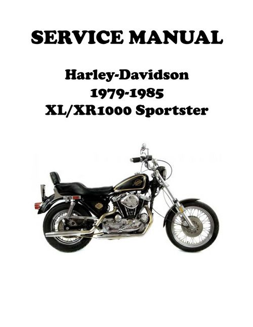 1979-1985 XL/XR 1000 Sportster Ironhead Service Manual