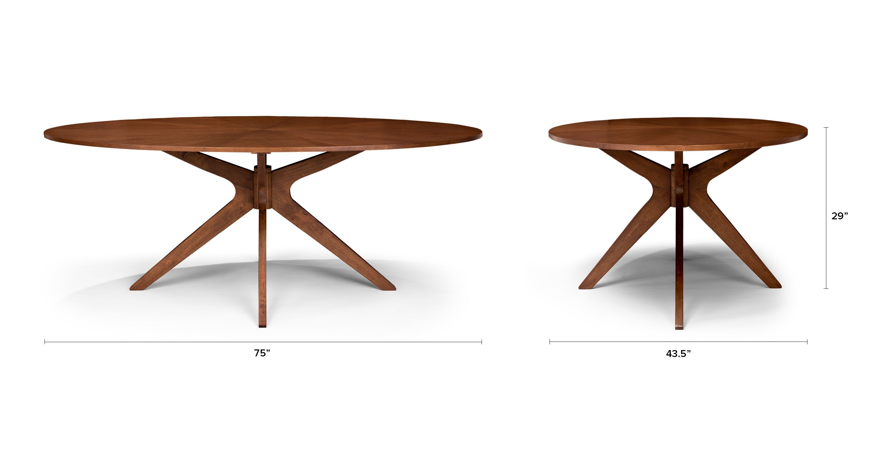 Conan Oval Dining Table Tables Article Modern