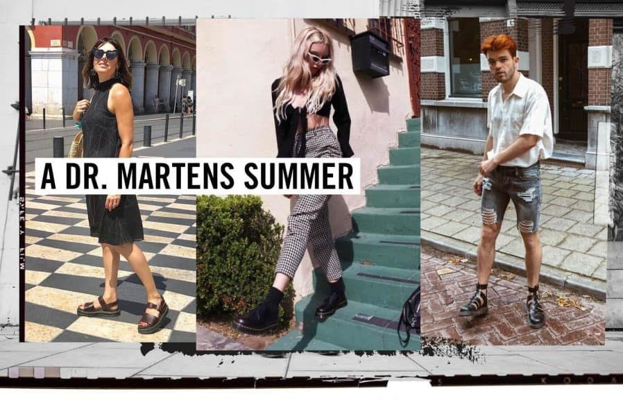 Dr. Martens Holiday season | Music currently | Shoe shop