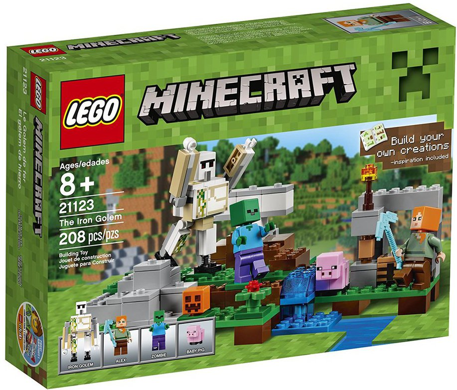 Best Toys And Gift Ideas For 9 Year Old Boys 2020 Littleonemag In 2020 Lego Minecraft Iron Golem Lego
