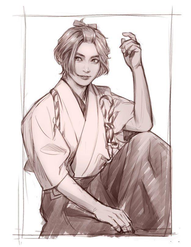 刀剣乱舞とある審神者の歌仙兼定イラスト Kawaii Touken Danshi
