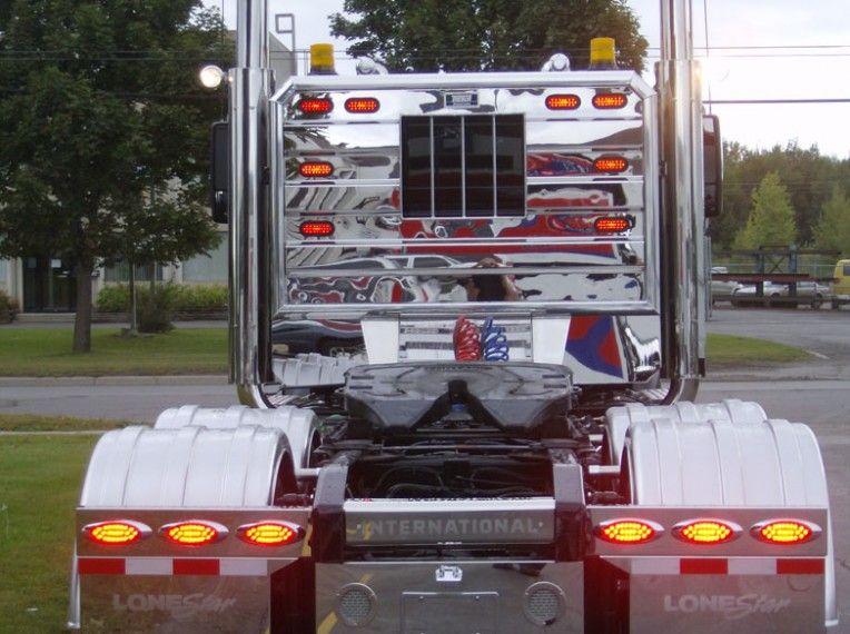 Stainless Steel Headache Rack Semi Truck Racks Blog Ideas