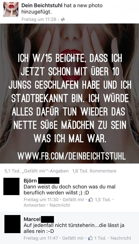 dein Beichtstuhl - best comments | Fun xD | Pinterest