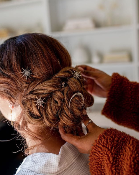Celestial Hair Clip Set