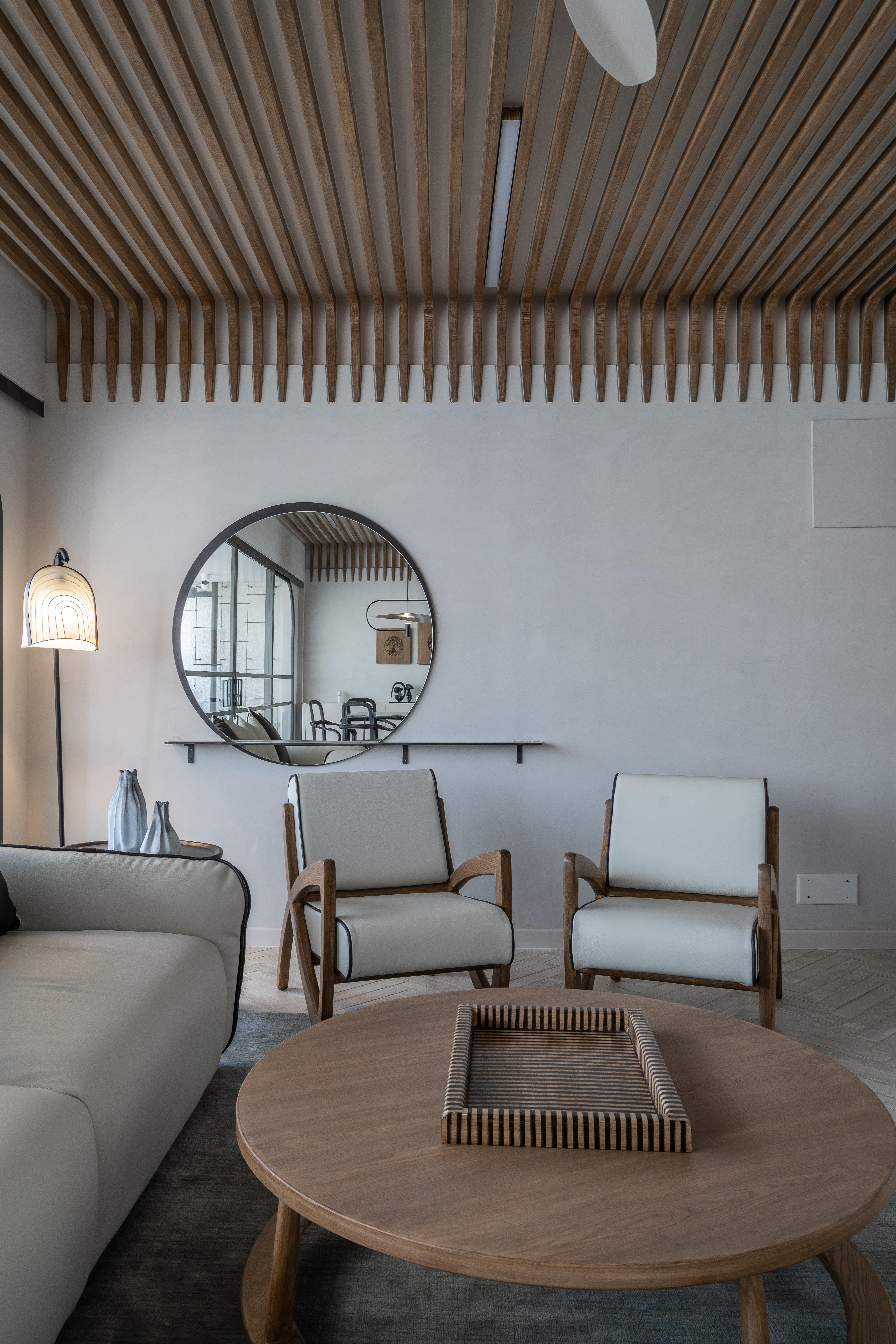#livingroom #apartmentdesign #designerscircle #minimaldesign #luxuryinterior #scandanavianinterior #Ahmedabad