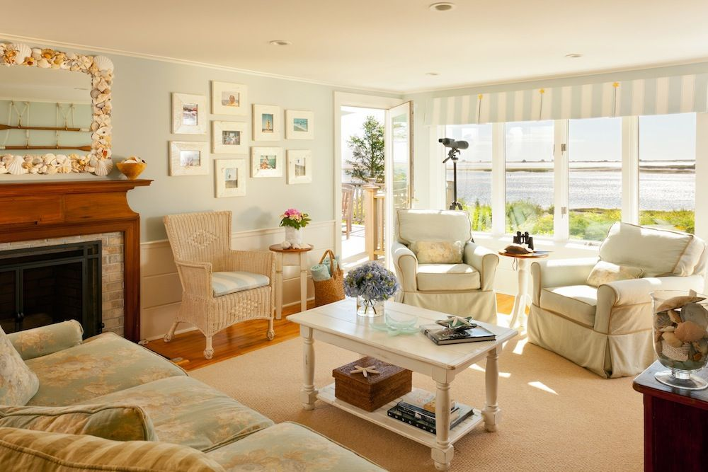 Cape Cod Living Room cape cod themed living room | the cape cod coastal living