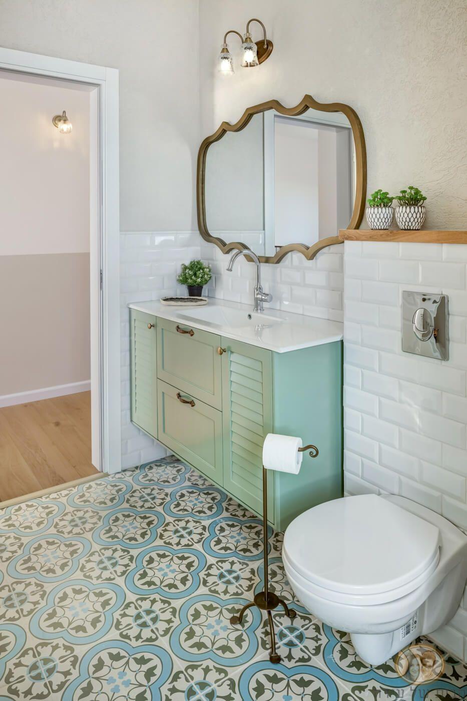 האמבטיה של הילה ואלון - הבית של עידה
