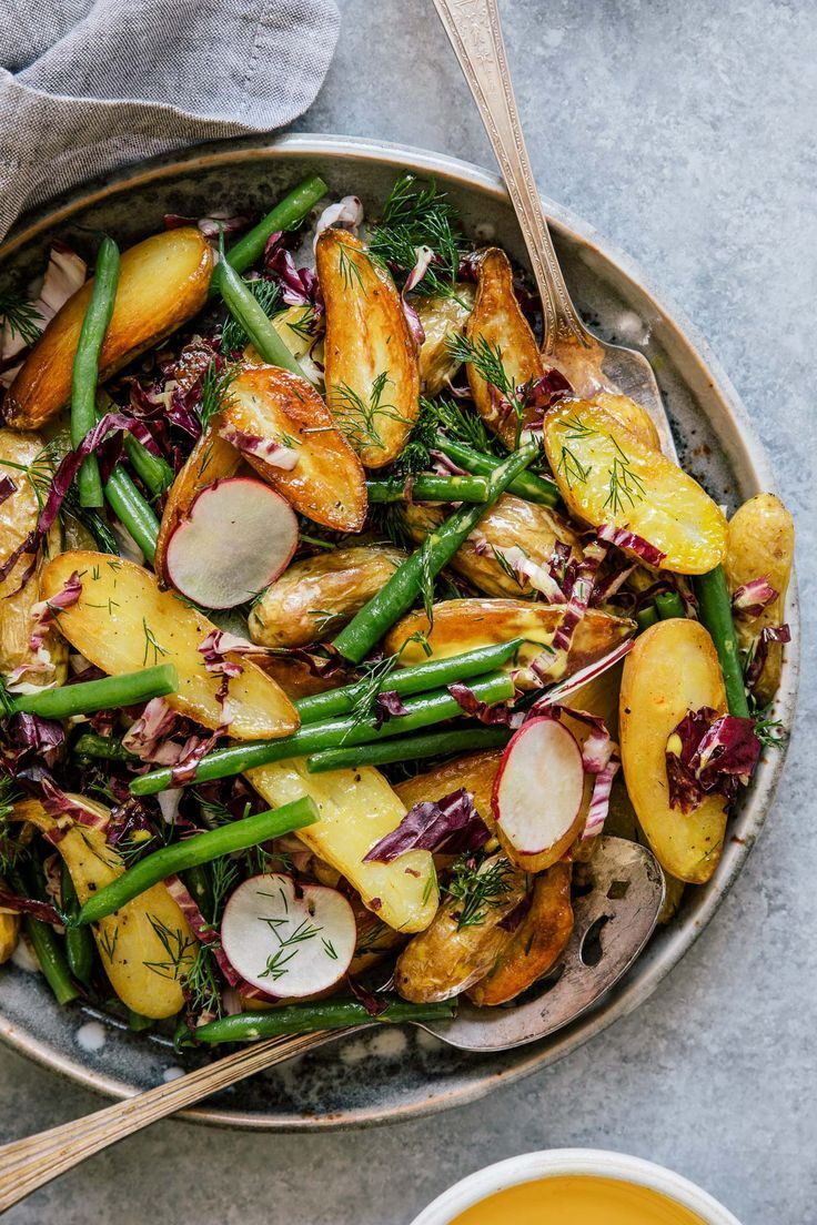 Potato Salad with Saffron Aioli + Vitamix Giveaway