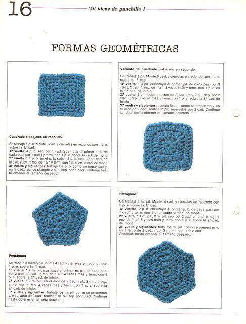 Formas geométricas | Crochet