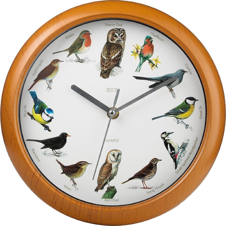 Full Image For Modern Bird Song Wall Clock 9 Bird Song