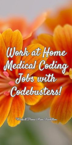 Work At Home Medical Coding Jobs With Codebusters  Medical Coding