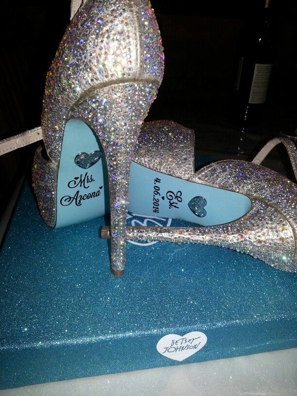 Blue By Betsey Johnson Wedding Shoes