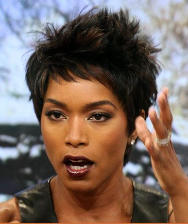short hair styles ladies angela bassett best haircut i wanna stick my tongue 4950 | dc49e4950a52c3c96735adf241d7bed1